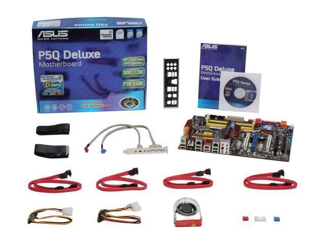 Configure PC w/ Asus P5Q Deluxe Motherboard