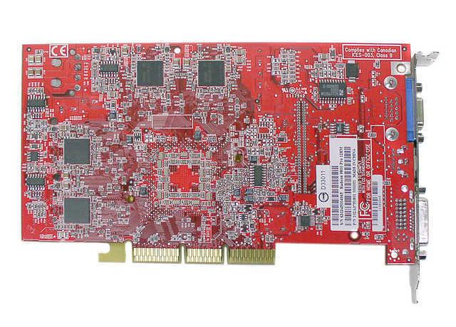 Configure PC W ATI Radeon 9800 Pro 128MB Video Card