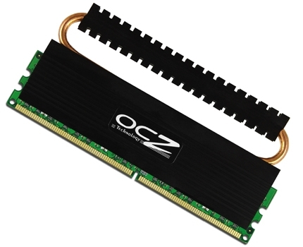 OCZ DDR2-800 Reaper 1024MB w/ Heatpipe Cooling Main Picture