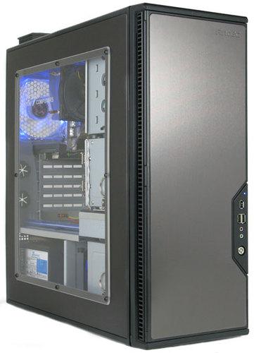 Configure Pc W Antec P182 Gunmetal Finish With Window Case