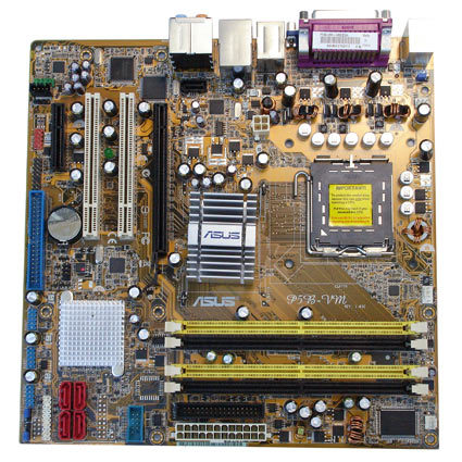 Configure PC w Asus P5B VM Motherboard