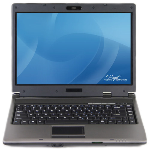 Puget M400i 14.1 inch Notebook (SATA) w/ DVDRW Main Picture