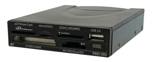 Atech PRO-35U USB 2.0 Internal/External Card Reader Main Picture
