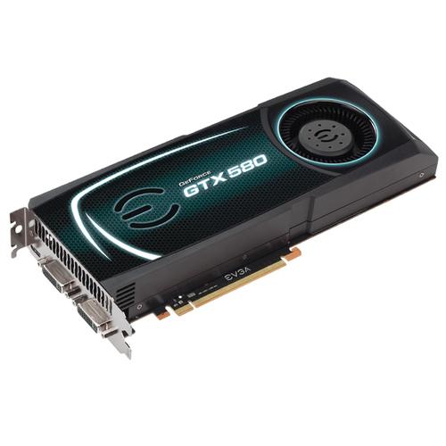 EVGA GeForce GTX 580 1536MB Main Picture