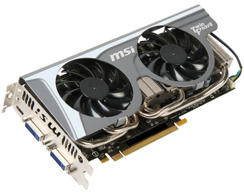 MSI GeForce GTX 560 Ti 1GB Twin Frozr II Main Picture