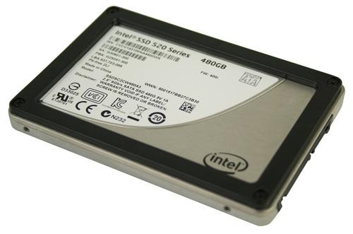 Intel 520 480GB SATA3 2.5inch SSD Main Picture