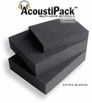 AcoustiPack 5.25 inch Drive Bay Foam Block Main Picture