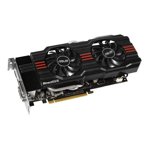 Asus Geforce GTX 660 Ti 2GB DirectCU II Main Picture