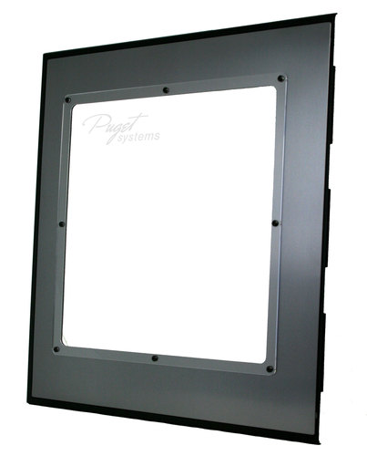 Antec P18X Side Panel Window (gunmetal) Main Picture