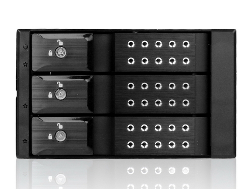 iStarUSA 3-Hard Drive Hot Swap Rack Main Picture
