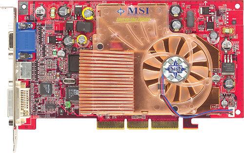 MSI GeForce4 Ti 4200 128mb 8X AGP Main Picture