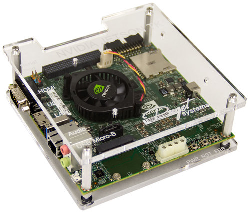 Puget Systems Acrylic Development Enclosure for NVIDIA Jetson TK1 Main Picture