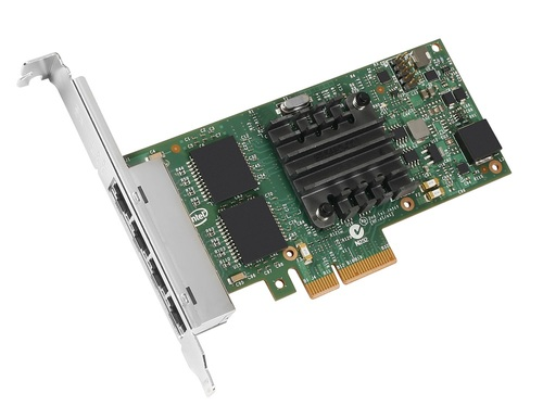 Intel Quad Port Ethernet Server Adapter I350-T4 Main Picture