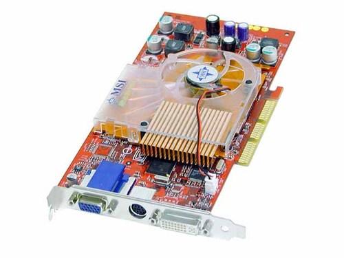 MSI GeForce4 Ti 4800SE 128mb 8X AGP Main Picture