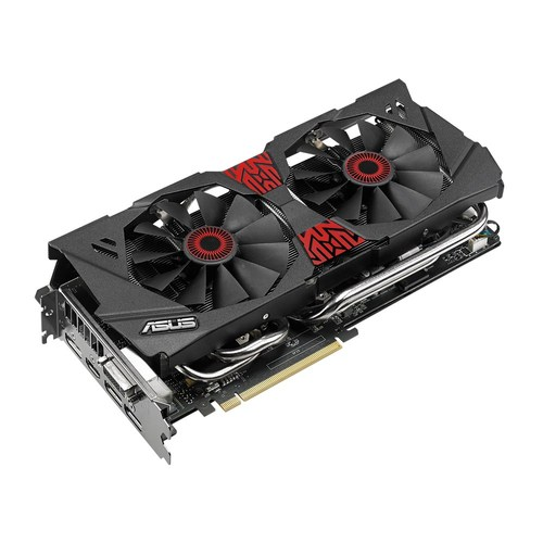 Asus GeForce GTX 980 4GB STRIX DirectCU II OC Main Picture