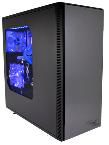 Fractal Design Define XL R2 Titanium Grey w/ Window (Performance Liquid Cooling Package) Main Picture