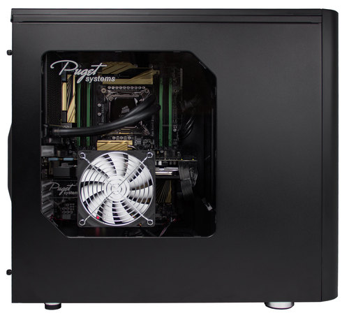 Fractal Design Define R5 Acrylic Window Replacement w/ 120mm fan Main Picture