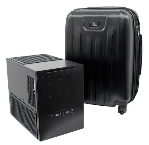 Silverstone SG10 Hard Shell Carrying Case Main Picture