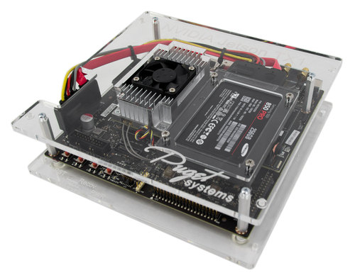 Puget Systems Acrylic Enclosure for NVIDIA Jetson TX1 Main Picture