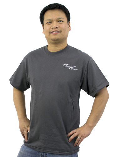 Puget Mens Grey T-shirt (XXXX large) Main Picture