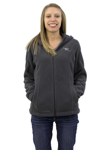 Puget Womens Grey Fleece Zip-up (large) Main Picture
