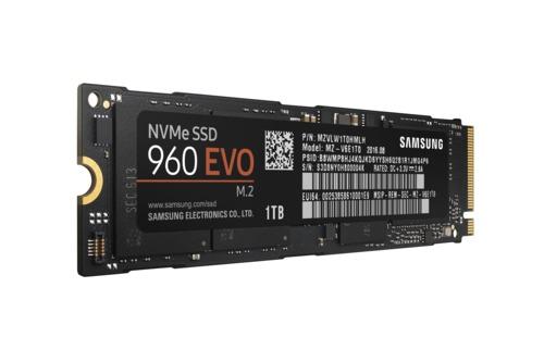 Samsung 960 EVO 1TB M.2 SSD Main Picture