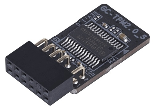 Gigabyte Trusted Platform 11 pin (12-1) Module (TPM 2.0) Main Picture