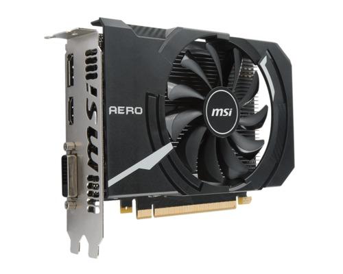 MSI GeForce GTX 1050 Ti AERO ITX 4GB Main Picture