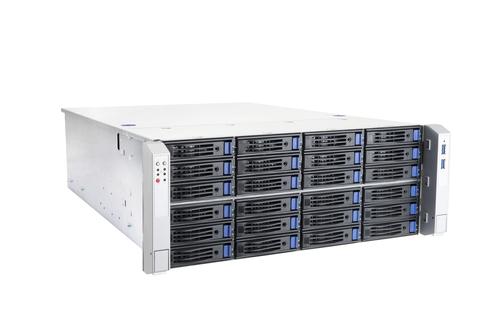 In Win RS424-02M 24 Bay Storage 4U Rackmount w/ 800W Redundant PSU Main Picture