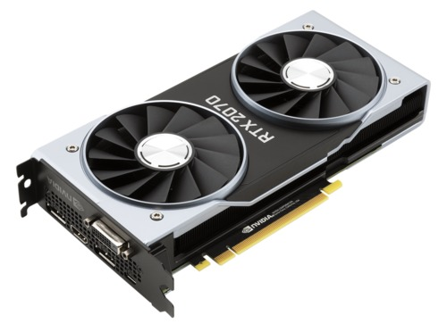 NVIDIA GeForce RTX 2070 Founders Edition 8GB Main Picture