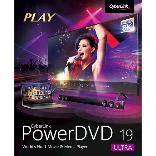 Cyberlink PowerDVD 19 Ultra OEM Main Picture