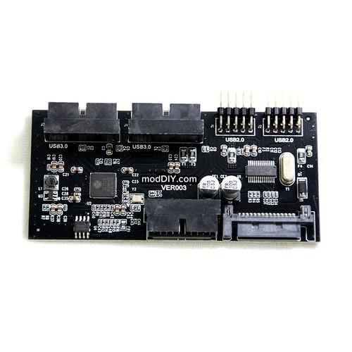 ModDIY Internal USB 3.0 Hub Controller 4 Port Main Picture