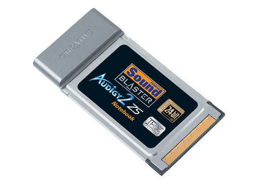 Creative Sound Blaster Audigy2 ZS Notebook PCMCIA Main Picture