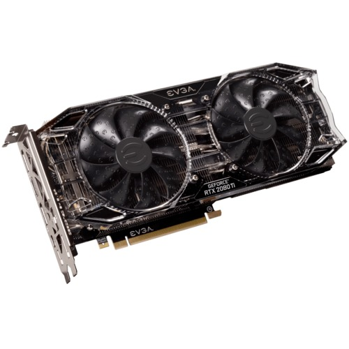 EVGA GeForce RTX 2080 Ti BLACK EDITION 11GB Open Air Main Picture
