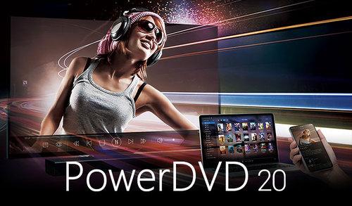 Cyberlink PowerDVD 20 Ultra OEM Main Picture