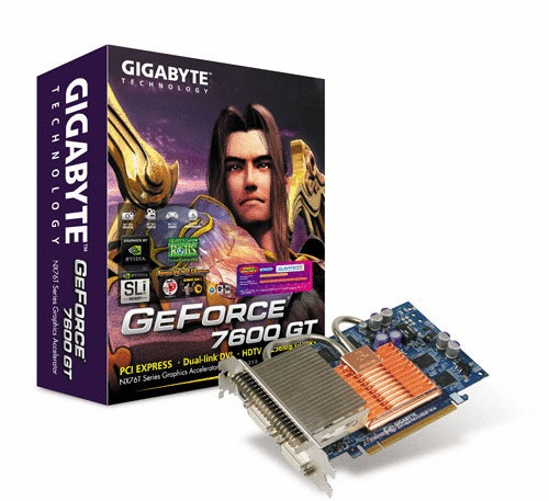 Gigabyte GeForce 7600GT 256MB Silent Main Picture
