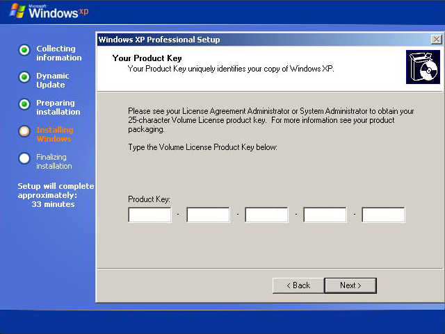 where do i find my windows xp product key