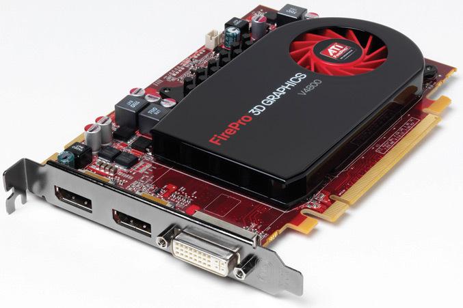 Configure PC w/ AMD FirePro V4800 PCI-E 1GB Video Card