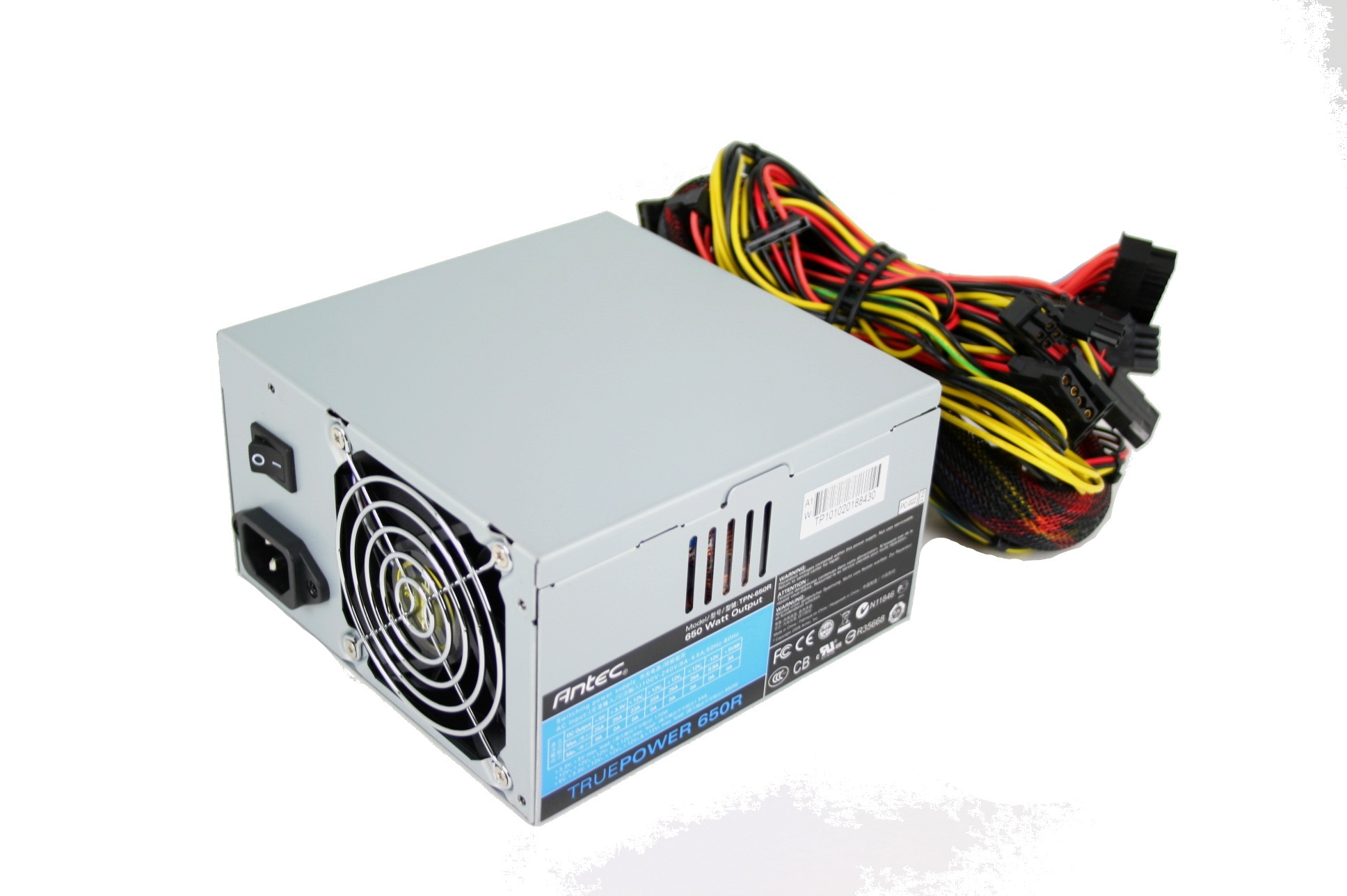 Configure PC w/ Antec TruePower 650R 650W Power Supply Power