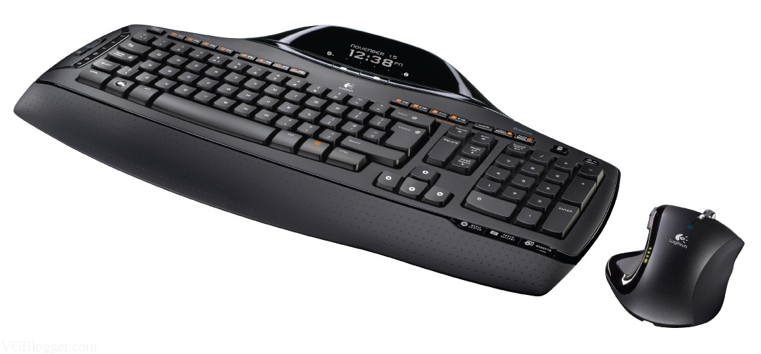 10223e40cb1 Configure PC w/ Logitech Cordless Desktop MX5500 Keyboard