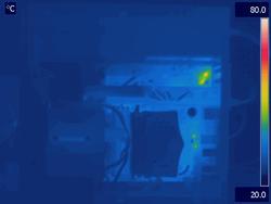 Silverstone TJ08-E Idle Thermal Image