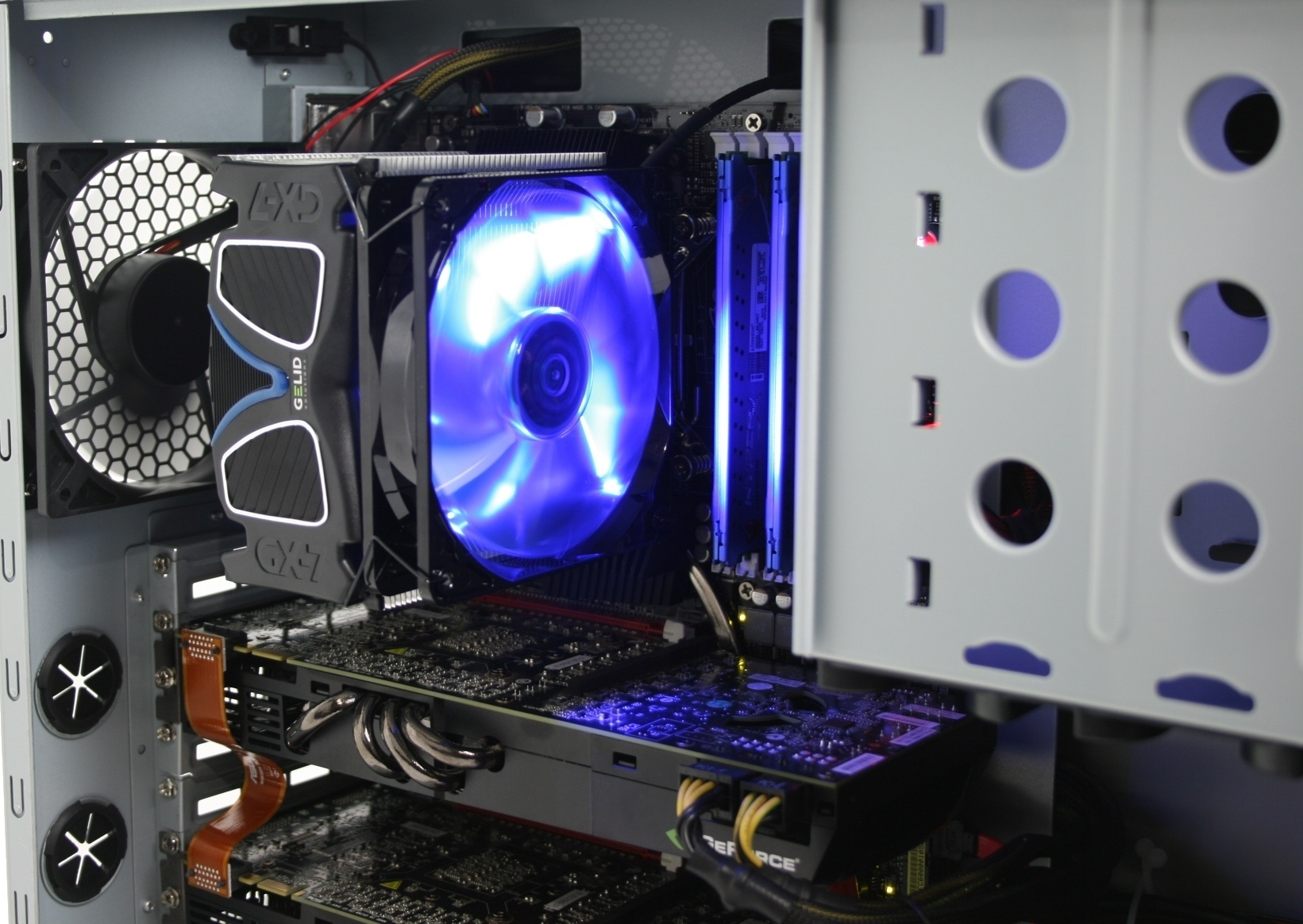 Gelid GX-7 Installed
