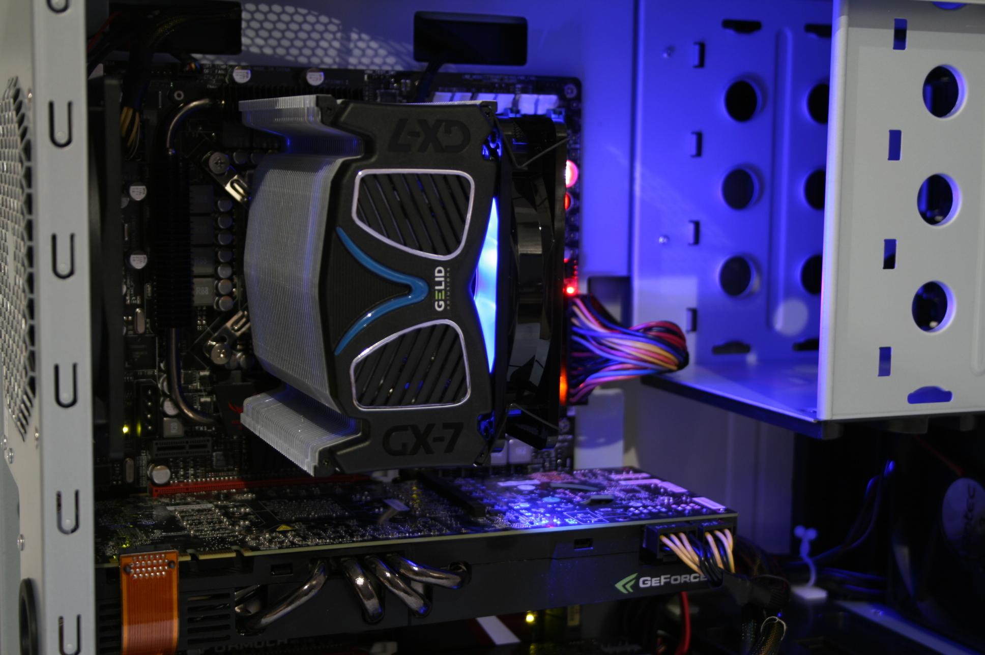Gelid GX-7 Installed dark