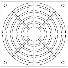 Concentric Circles Grill