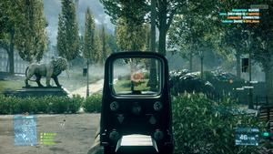 Battlefield 3 Gameplay Screenshot