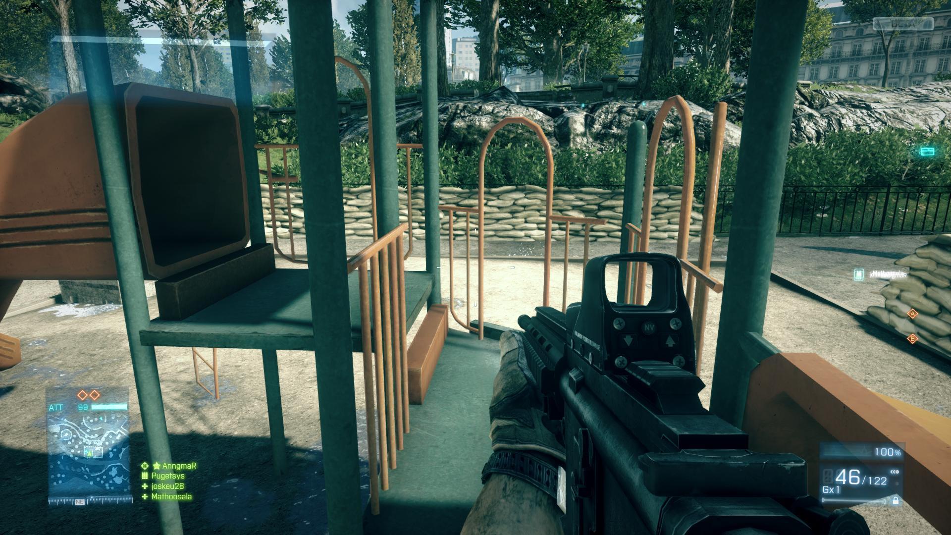 Battlefield 3 Gameplay Screenshot