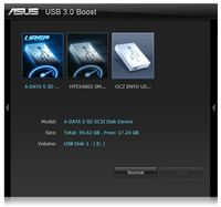 USB 3.0 Boost software