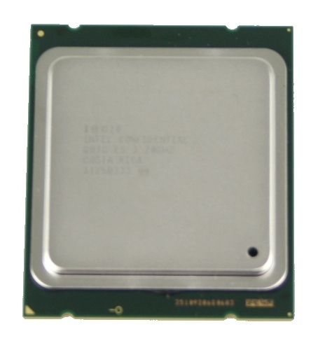 Sandy Bridge-E CPU Top View