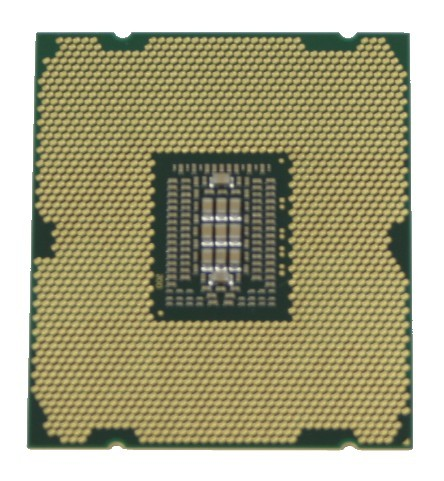 Sandy Bridge-E CPU Bottom View