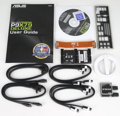 Asus P9X79 Deluxe Accessories